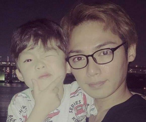 西本誠嫁と子供父親の顔画像