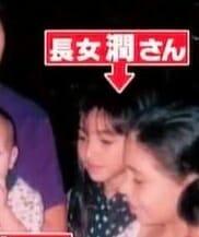 長谷川潤の子供の頃と娘息子
