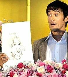 阿部寛の嫁妻と子供の顔画像