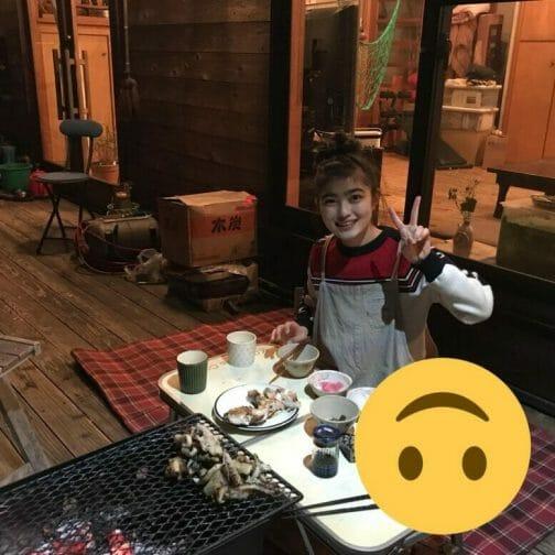 井上咲楽の実家の場所と虫食べる