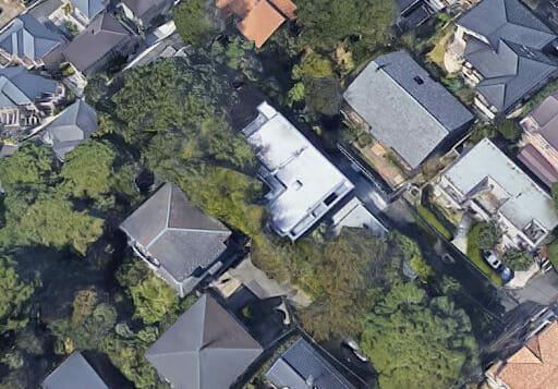 田村正和の自宅は成城4丁目