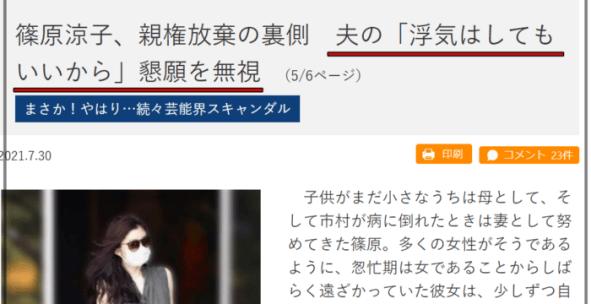 篠原涼子グァンスのアンクレット