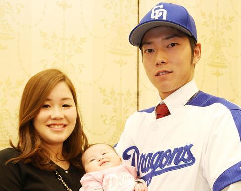 木下雄介の妻嫁と子供画像