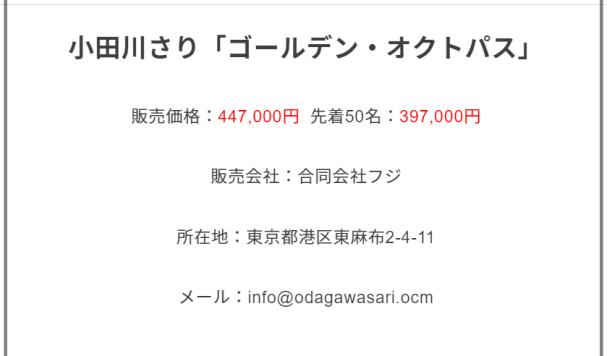 小田川さり大学経歴年収