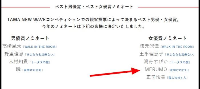 モデルMERUMOwikiアイドル