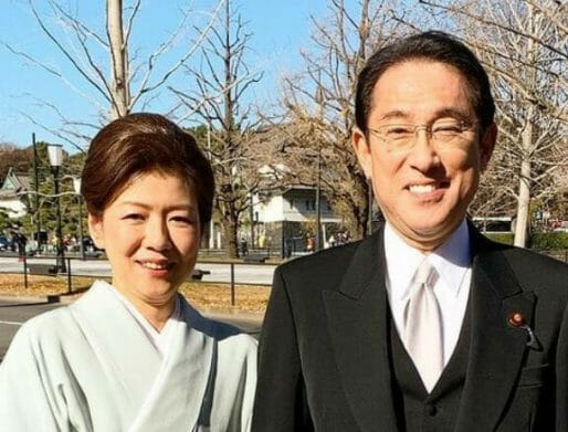 岸田文雄の妻夫人と子供学歴