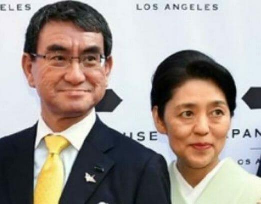 河野太郎の妻嫁の学歴実家